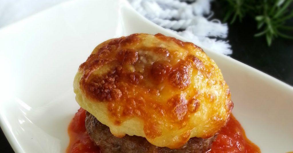 püreli domates soslu köfte tarifi