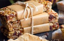 Ev Yapımı Düşük Kalorili Granola Snack Bar