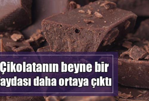 Çikolatanın Beyne Bir Faydası Daha Ortaya Çıktı