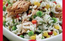 Ton Balıklı Pirinç Salatası