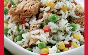 Ton Balıklı Pirinc Salatası