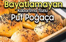 Bayatlamayan Kabartma Tozlu Puf Poğaça