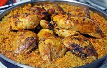 Bulgurlu Tavuk Kapama