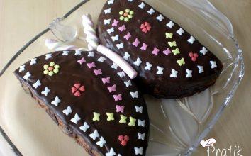 Çikolatalı Kelebek Pasta