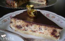Çikolatalı ve Labneli Pasta