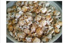 Çıtır Yufkalı Tavuklu Nohut Salatası