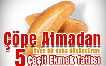 Bayat Ekmekle Yapılan 5 Muhteşem Pratik ve Lezzetli Tatlı Tarifi!