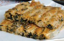 El Açması Tadında Ispanaklı Çıtır Börek Tarifi