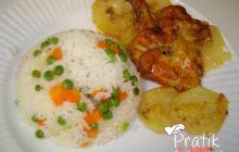 Fırında Terbiyeli Tavuk Pirzola