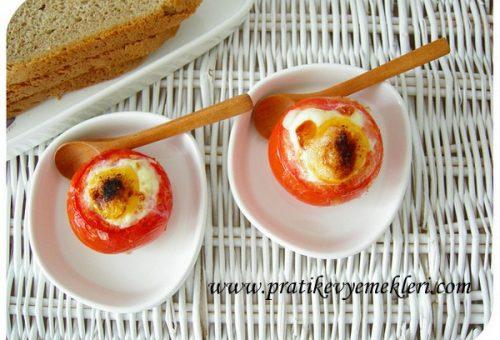 Fırında Yumurtalı Pomodoro