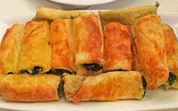 Ispanaklı Börek Tarifi:El Açması