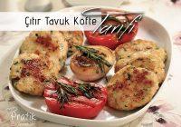 Cebe dost, ete alternatif lezzet: Çıtır Tavuk Köftesi