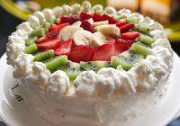 Kış Meyveli Yaş Pasta Tarifi