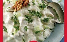 Marullu Yoğurtlu Tavuk Salatası Tarifi