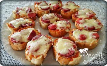 Mini Ekmek Pizzası