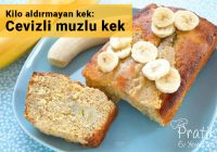 Kilo aldırmayan kek: Cevizli muzlu kek