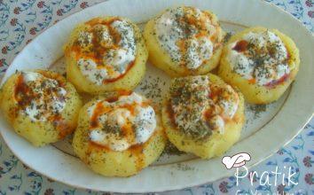Patates Yuvası Salatası