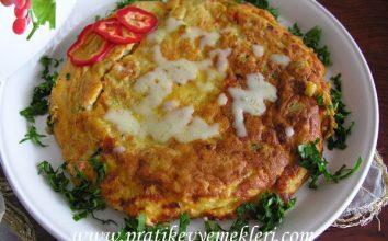 Sebzeli Omlet