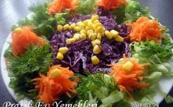 Süslü Kolay Salata