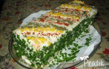 Tavuklu Etimekli Salata