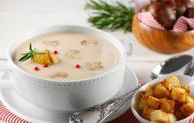 Tavuklu Mantar Çorbası
