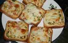 Tost Ekmeğinden Pratik Pizza